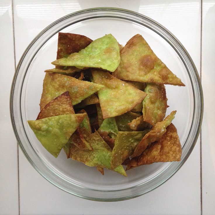Homemade natchos from nopal tortillas! A great way to use your dried up tortillas.
