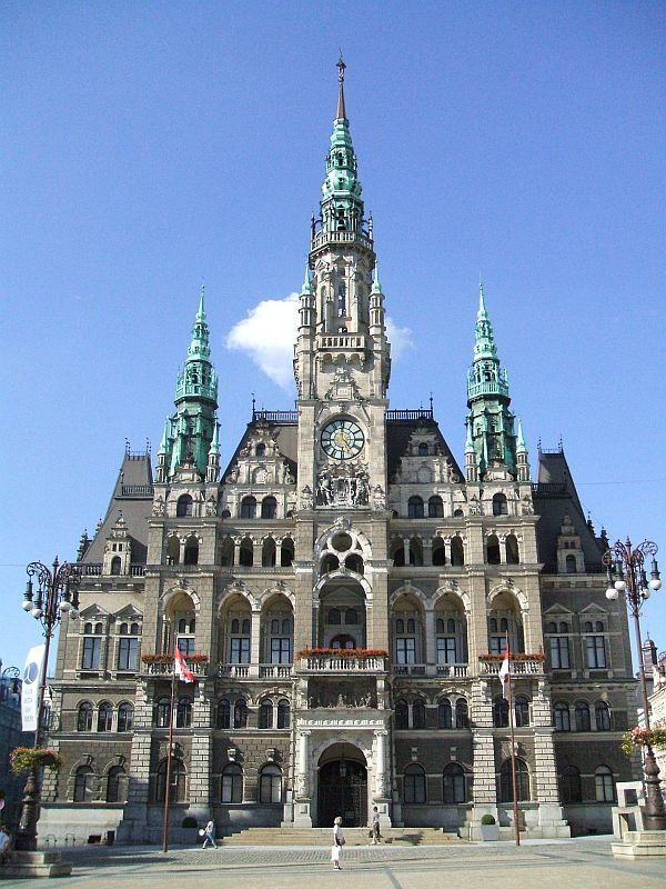 Liberec Town Hall, Czech Republic