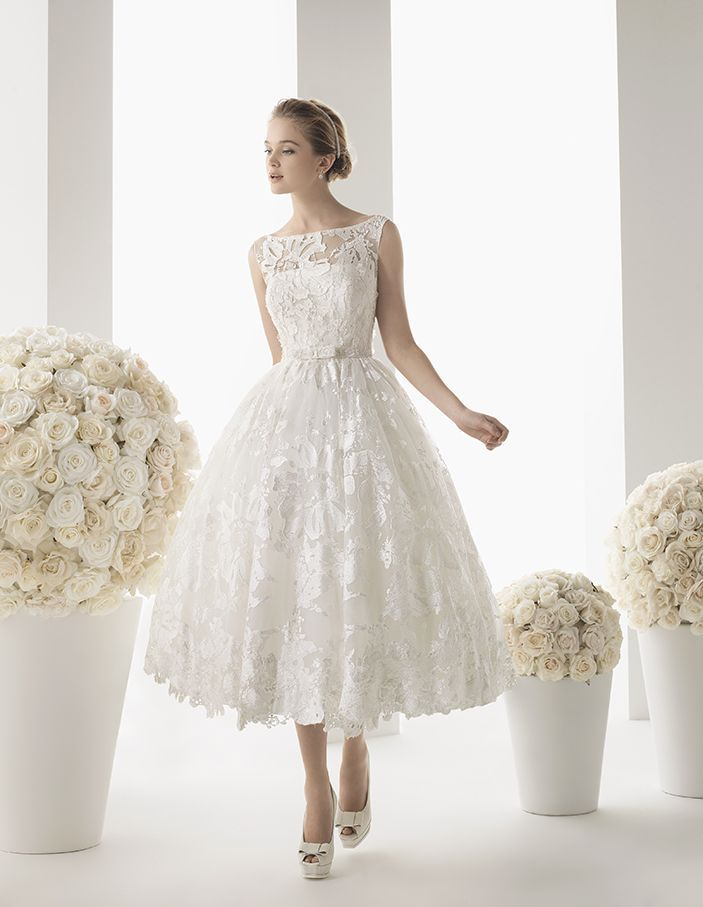 Top 40 Most Loved Tea Length Wedding Dresses All Dressed Up Pinterest And Dress