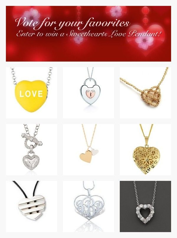 Favorite Heart Necklaces for Valentine's Day