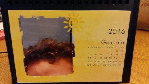 Il calendario del mio ciuffo.