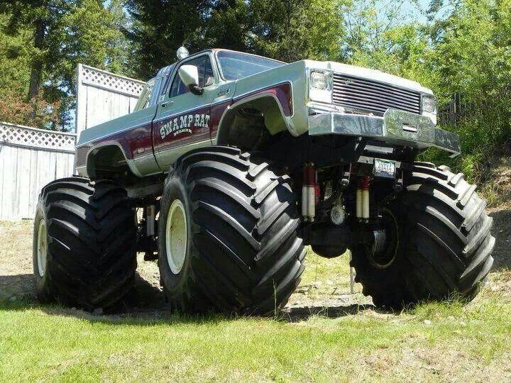old school monster truck Monster trucks, Big monster