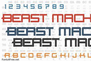 Beast Machines Font