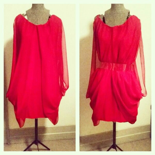 Chiffon overlay dress, made on request email meleeamelbourne@gmail.com