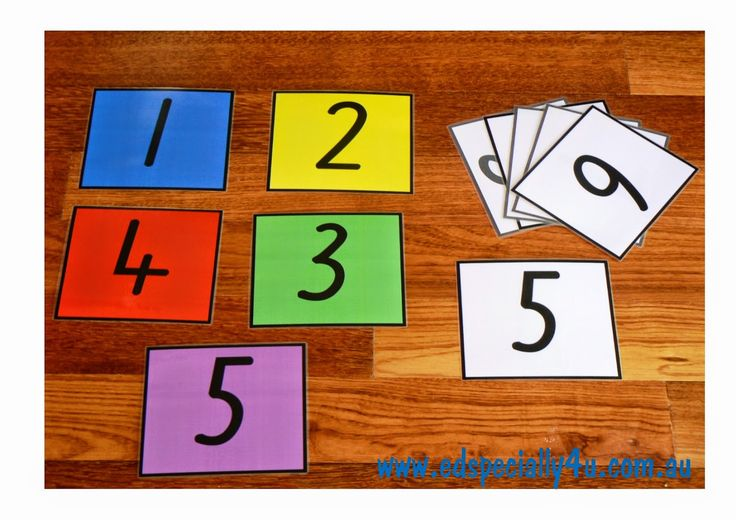 For the Love of Learning- ED Specially 4U: Learning Numerals the ED Specially 4U way