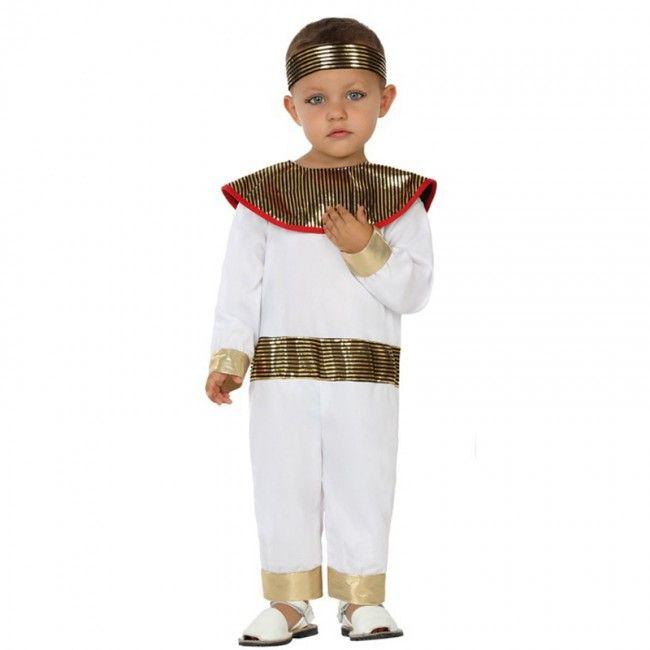 Disfraz de Egipcio Ramsés bebé #disfraces #carnaval #novedades2017