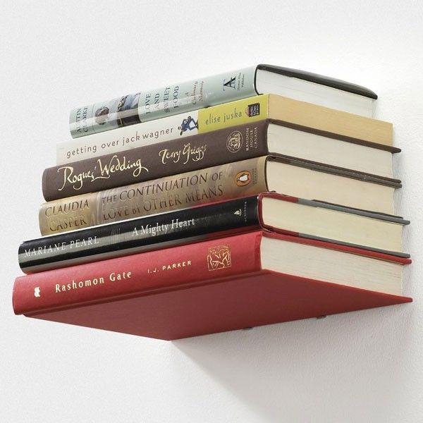 Umbra Conceal Bookshelf - floating book shelf - small