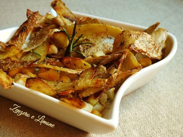 bucce di patate croccanti -