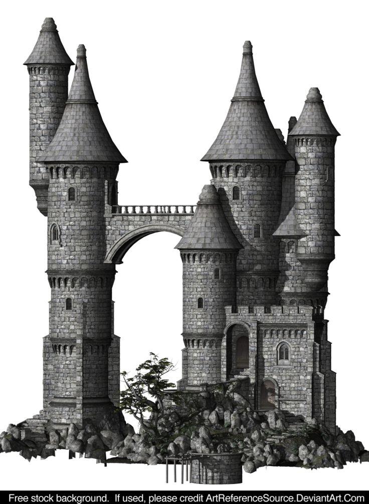 Free Stock:  Castle PNG by ArtReferenceSource.deviantart.com on @DeviantArt