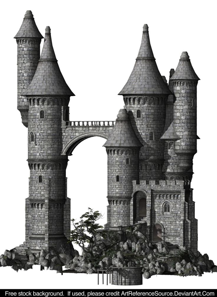 Free Stock:  Castle PNG by ArtReferenceSource.deviantart.com on @DeviantArt