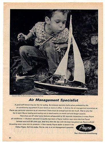 1963 Payne Air Conditioner ad   por oldsailro