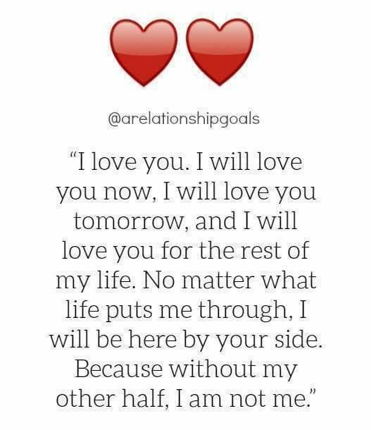 I Love You Eternally Quotes : love you poem husband quotes from wife love love you babe i love my ...