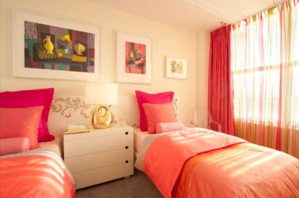 Image detail for -two pink master bed for modern contemporary grils bedrooms furniture ...