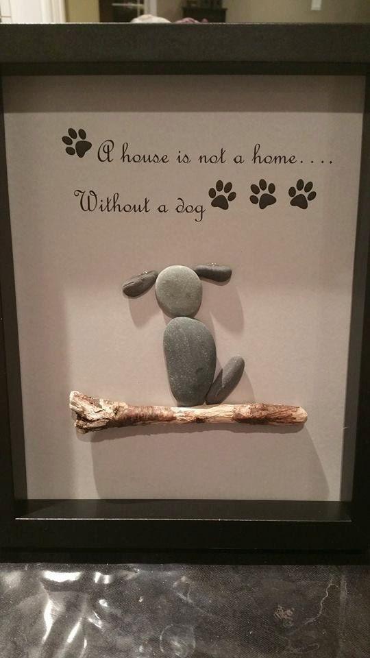 Ähnliche Artikel wie Haustier-Kiesel-Kunst auf Etsy