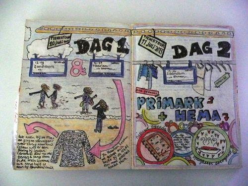 Janieks Art Journal: tienertour #DIY