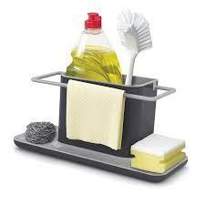 Image result for sink tidy with rail