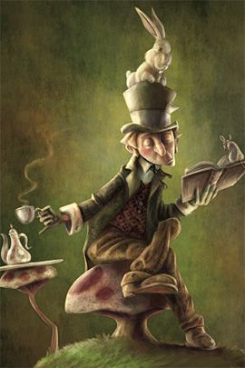 Thomas BoatwrightTimeline Covers, Alice In Wonderland, Mad Hatters, Afternoon Teas, The Mad Hatter, Mad Men, Healthy Recipe, Whimsical Art, Teas Parties