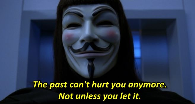 - V for Vendetta (2005)  Hugo Weaving Natalie Portman