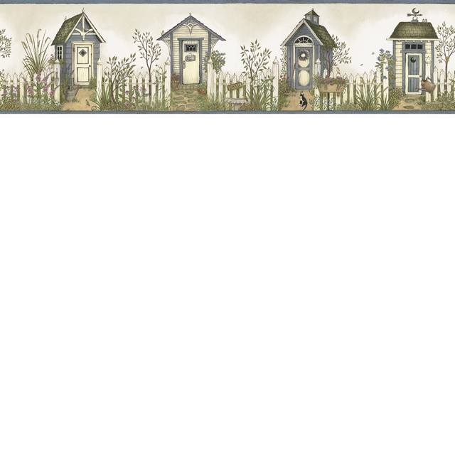 Cottage Outhouses Border Outhouse Cottage Wall Borders