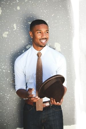 Michael B. Jordan   Michael B. Jordan On the Challenge of Playing a Real-Life Person in ...