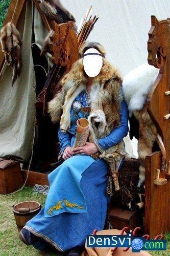 Костюм викинга для фотошопа