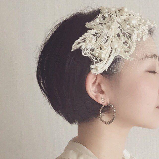 いいね!96件、コメント8件 ― Porte de Vanvesさん(@porte_de_vanves)のInstagramアカウント: 「結婚式で身につけるヘッドアクセは、一生のうち身につ[That's cool!]  けるどのヘアアクセよりも特別なものだと考えています*:...。・ そんな大切なシーンにPorte de…」