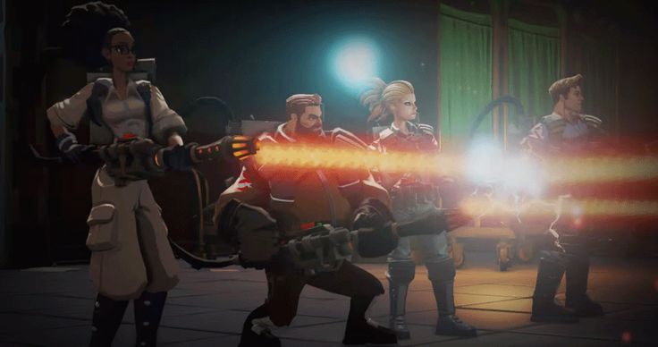 """You play as an all-new Ghostbuster. 