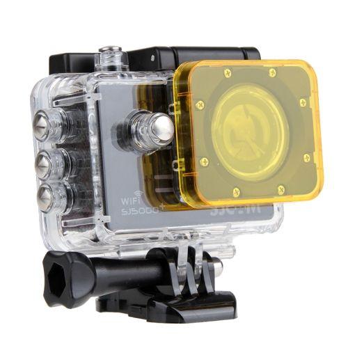 [$2.29] Transparent Lens Filter for SJCAM SJ5000 Sport Camera & SJ5000 Wifi & SJ5000+ Wifi Sport DV Action Camera(Yellow)