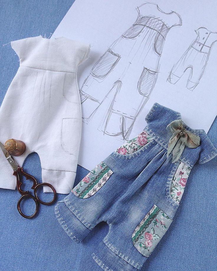 Примерно так создаётся новая модель: зарисовка на бумаге, разработка лекал, пошив макета, а затем готового изделия! Результатом я довольна! #blythe #blythegram #blythedress #куклаблайз #блайз #блайзомания #одеждадлякукол #одеждадляблайз