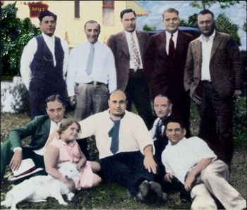 Al Capone and His Family | Capone's family