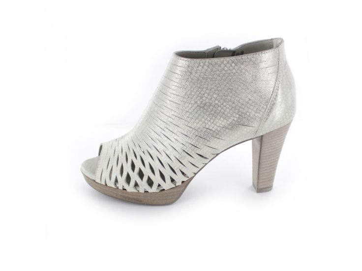 Paul Green - Pumps mit Cut-Outs in Metallic