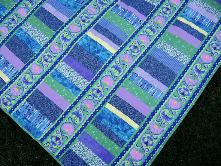 1000+ images about Quilts-Border Prints on Pinterest Border print, Blue star sapphire and ...