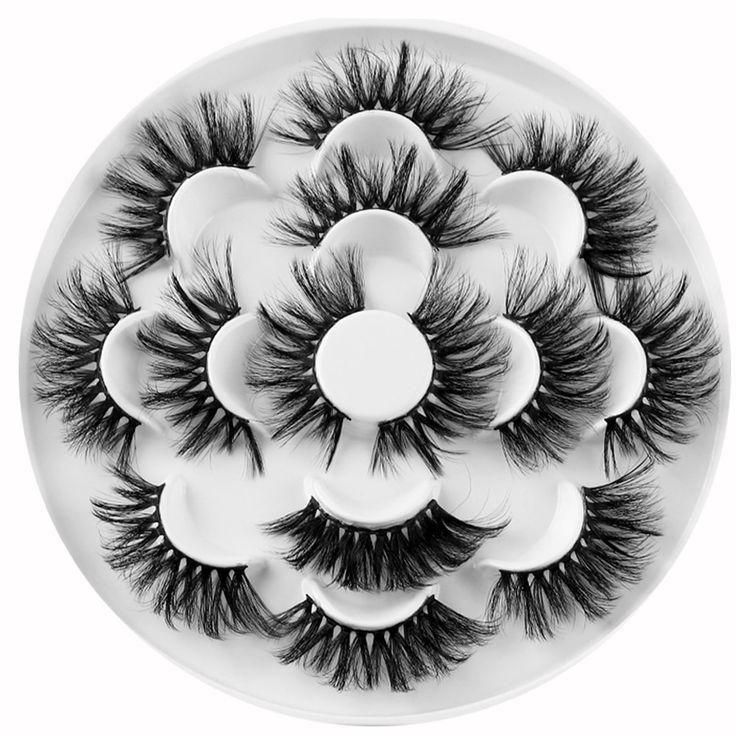 3D Wispy faux mink lashes K-03   Luxurymink Eyelashes