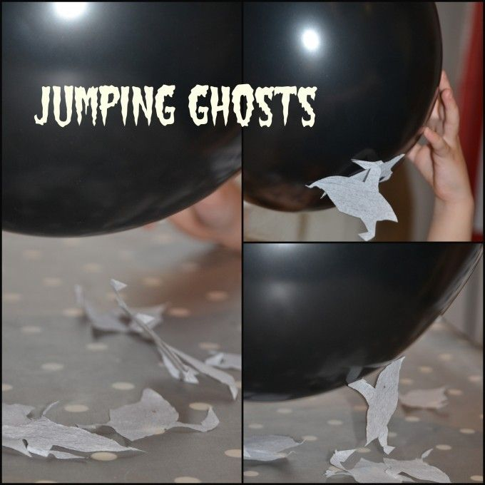 Learn about static electricity with our jumping ghosts