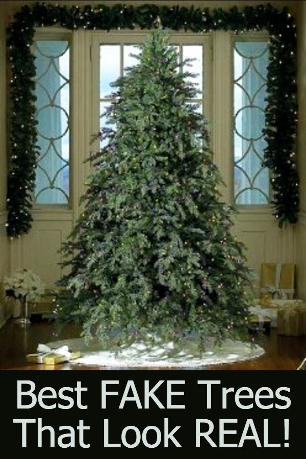 Best Realistic Looking Christmas Trees Beautiful Fake That Look So Real
