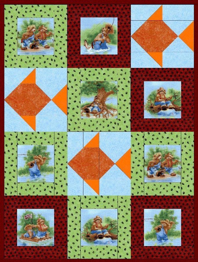 158 best images about Panels & Large Prints Quilts on Pinterest