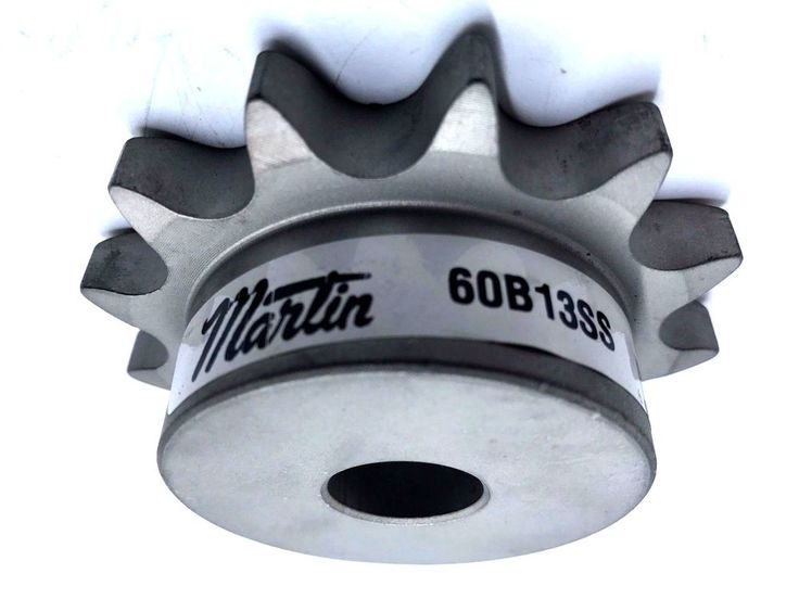 Martin 60B13SS Roller Chain Sprocket Stainless Steel Reboreable Type B Hub 13 T #Martin