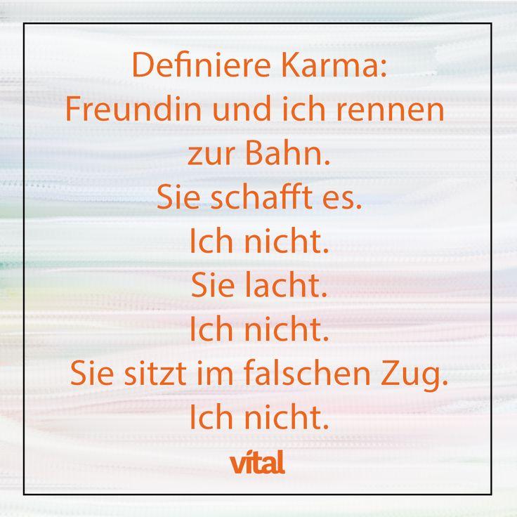 Spruch: Karma