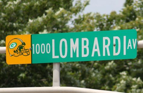 Lombardi Avenue in Green Bay, Wisconsin. #packers #legends #titletown