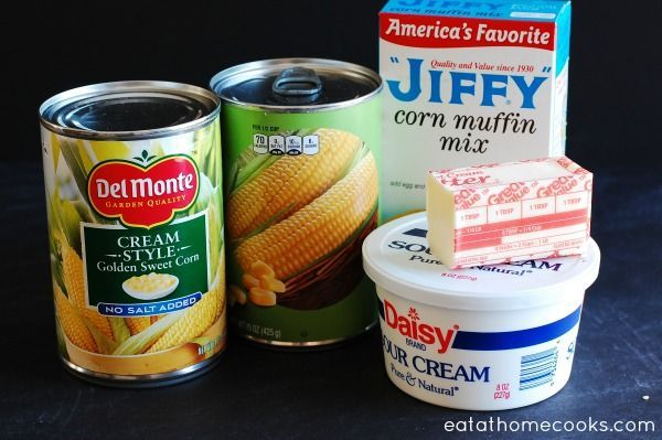 corn casserole ingredients