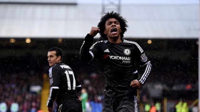 Willian: Enjoyable game | News | Official Site | Chelsea Football Club