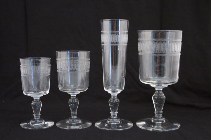 service en cristal de baccarat verres pinterest verre. Black Bedroom Furniture Sets. Home Design Ideas