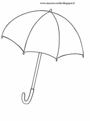 dáždnik maketa