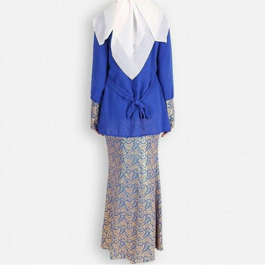 With songket  it'll be nice