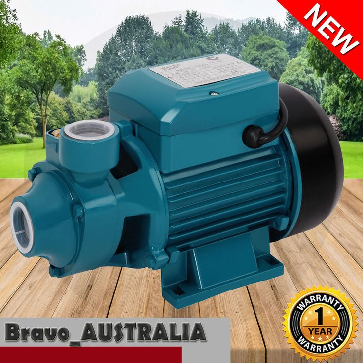240v Water Pump 0.5hp Electric Farm Clean Irrigation Gardening 1/2hp QB60