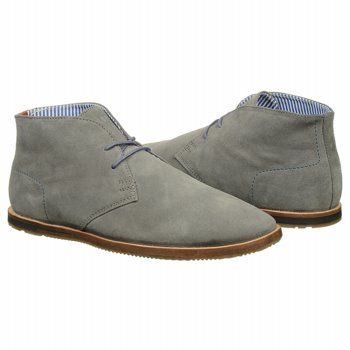 wear it with everything - grey #suede #chukka by Ben Sherman