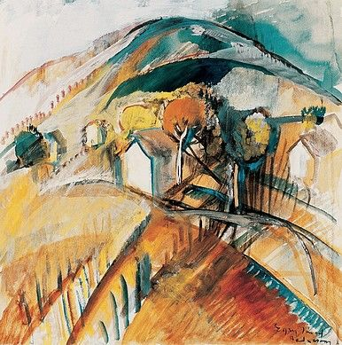 Egry József Badacsony című festménye