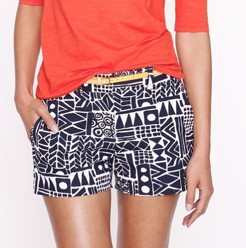 ^^: Style, Print Shorts, Tribal Shorts, Outfit, Patterned Shorts, Printed Shorts, Jcrewshorts