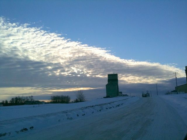 Clearing over Sexsmith AB