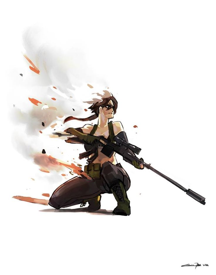 Digital Art   xombiedirge:     MGS V: The Phantom Pain byColin...